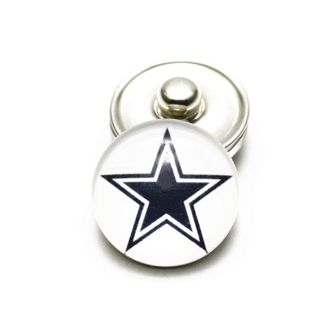 Image of Cowboys 18mm Snap Buttons