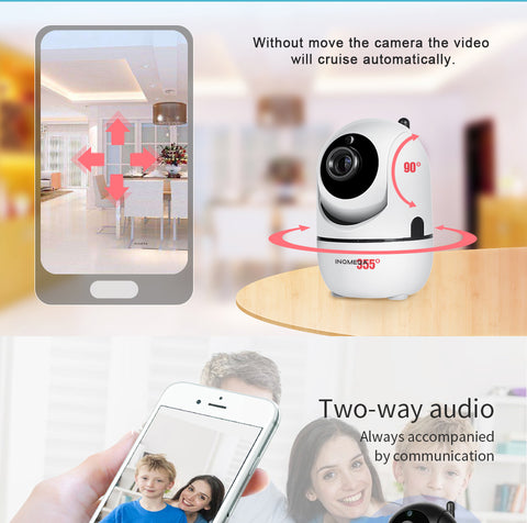 Image of INQMEGA HD 1080P Cloud Wireless IP Camera Intelligent Auto Tracking Home Security Surveillance CCTV Network Wifi Camera