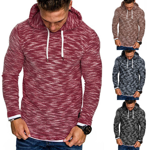 Men's Autumn Long Sleeve Hoodie Hooded Sweatshirt