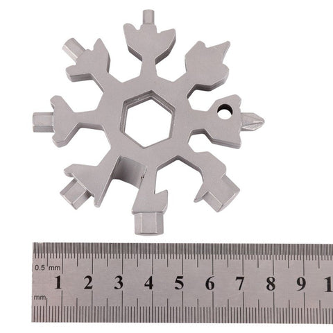 Image of 18 IN 1 Snowflake Mini Tactical Tool