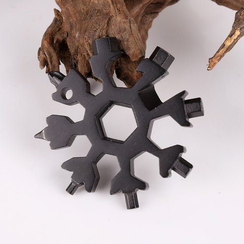 18 IN 1 Snowflake Mini Tactical Tool