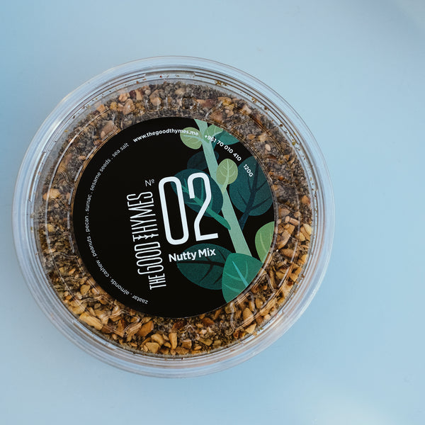 Lebanese zaatar by the good thymes in the Koullouna sobhye Box