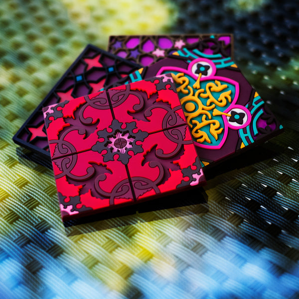 Coaster by lebanese design brand Images d'Orient in the Koullouna Jam3a Box