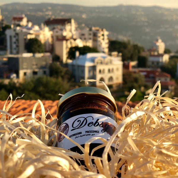 Organic Debs in the Lebanese Koullouna Tfaddalo box, in collaboration with Souk El Tayeb