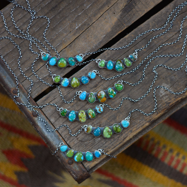Stone Collector's Pendants - Natural Turquoise Necklaces