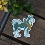 Minka Sticker - Classic Husky Vinyl Sticker