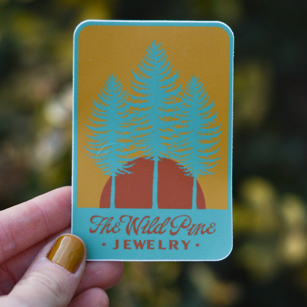 Sticker Pack - Collection of 3 Wild Pine stickers