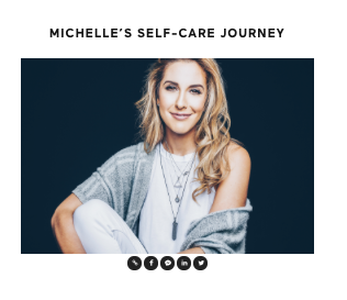 JOIN CREATIVE DIRECTOR MICHELLE DE MATHEU ON HER JOURNEY WITH WELLNESS