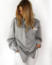 Load image into Gallery viewer, One of a Kind - Pura Vida Oversized Button Down (Hand Painted Design)