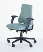 Axia 2,3 - High Back, Extra Thick Seat.