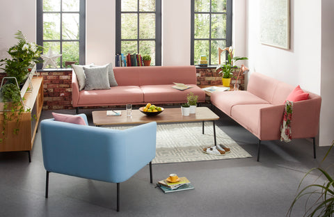 Worksphere Modular Two Seater Sofa