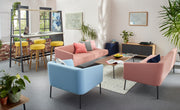 Worksphere Two Seater Sofa