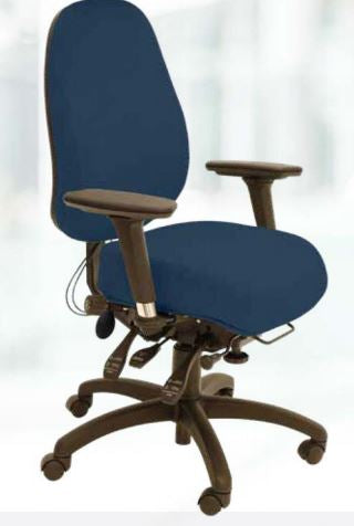 Occupational Health recommended Spynamics SD8 Chair, bad back solution.