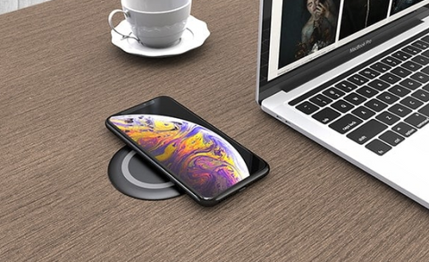 Integrated Wireless Phone Charger