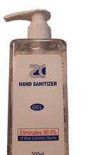 Load image into Gallery viewer, ZC® Hand Sanitizer - 75% Alcohol Anti-Bacterial Sanitizer - 500ml