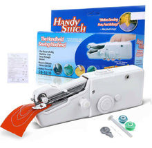 Load image into Gallery viewer, Portable Cordless Handheld Sewing Machine Stitch Home Mini Clothes Free Post