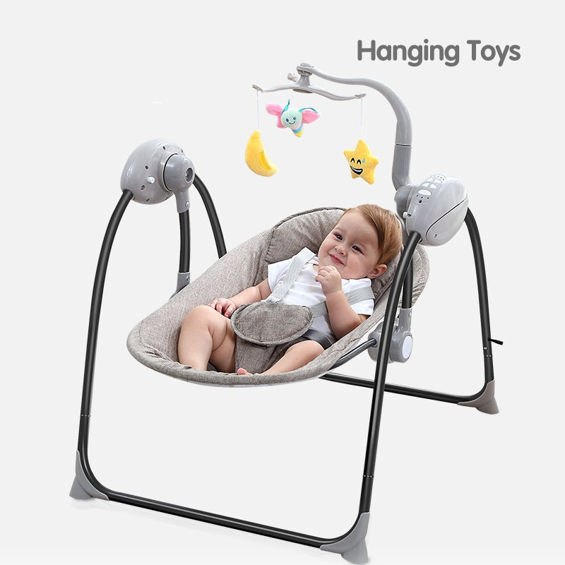 Tumama® Baby Electric Rocking Chair - Blister Brown