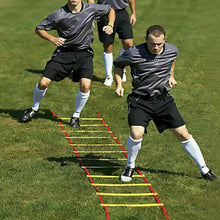 Load image into Gallery viewer, 10M Agility Speed Sport Trainning Ladder Soccer Fitness Boxing 21 Rungs&Bag Gym