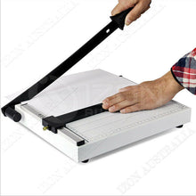 Load image into Gallery viewer, Premium Portable A4 To B7 Paper Photo Cutter Guillotine Trimmer Knife Metal Base