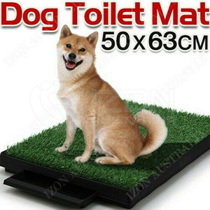 Indoor Dog Pet Potty Training Portable Toilet Large Loo Pad with Tray FAST POST