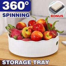 Load image into Gallery viewer, Spinning Storage Organiser Revolving Turnable Rotating Kitchen Condiment Rack