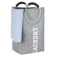 Load image into Gallery viewer, Portable Foldable Laundry Washing Dirty Clothes Storage Basket Bag Hamper