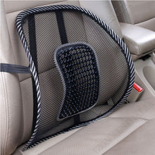 Load image into Gallery viewer, Mesh Back Rest Lumbar Support Office Chair Van Car Seat Home Pillow Cushion  AU