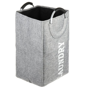 Portable Foldable Laundry Washing Dirty Clothes Storage Basket Bag Hamper