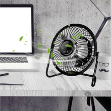 Load image into Gallery viewer, 4/6 inch 360°Portable USB mini Portable Desktop Cooling Desk Quiet Fan Computer