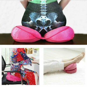 Ergonomic Cushion Butt Hip Push up Lumbar Support Posture Correction Support