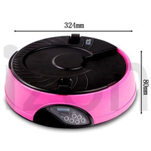 Load image into Gallery viewer, AUTO Dog Pet Feeder Dispenser Food Bowl Cat 6 Meal Automatic Program Digital LCD