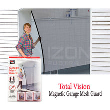 Load image into Gallery viewer, 2PCS Garage Mesh for One Car Door Antibugs Net Screen Single Car Garage Door