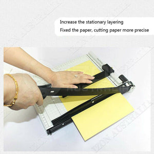 Premium Portable A4 To B7 Paper Photo Cutter Guillotine Trimmer Knife Metal Base