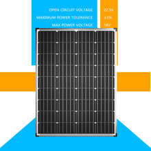 Load image into Gallery viewer, 12V 250W Solar Panel Kit  Mono Home Caravan Camping Charging 20A Controller USB