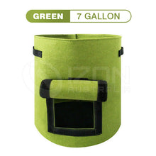 Load image into Gallery viewer, Potato Grow Bags Planter Container Pouch Fabric Pots Breathable Cloth Bags