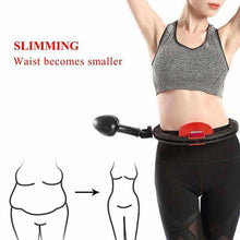 Load image into Gallery viewer, Fitness Sport Hoop Not Fall Adjustable Smart Hoops Gymnastic Hoop Thin Waist