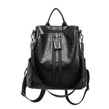 Load image into Gallery viewer, Women's Mochila Escolar Leather Backpack & Bags