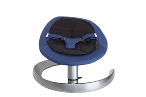 Aluminium baby rocking chair / bouncer - blue colour
