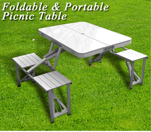 Foldable Picnic Table for camping