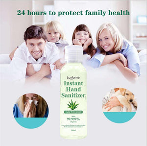 Hand Sanitiser - 75% Alcohol Anti-Bacterial Sanitiser - 100ml - Pack of 10