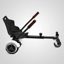 Load image into Gallery viewer, Adjustable Cart For Self Balancing Scooter & Hoverboard – Black