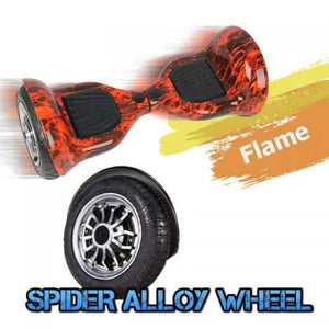 10 Inch Wheel Electric Hoverboard Scooter - Flame Style
