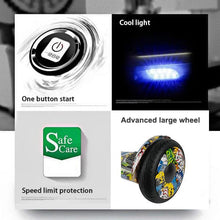 Load image into Gallery viewer, Electric Hoverboard, Self Balancing Scooter -Spider 10 – Graffiti – Bluetooth + Free Carry bag