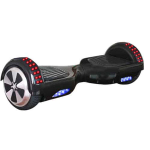 "6.5"" Wheel Hoverboard Self Balancing Scooter - Black"