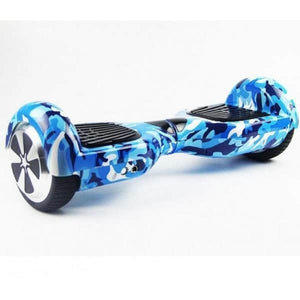 "6.5"" Wheel Hoverboard Self Balancing Scooter - Camouflage Blue"