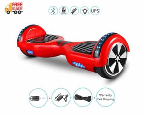 "6.5"" Wheel Hoverboard Self Balancing Scooter - Red"