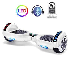 "Load image into Gallery viewer, 6.5"" Wheel Hoverboard Self Balancing Scooter - White"
