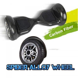 10 Inch Wheel Electric Hoverboard Scooter - Carbon Black