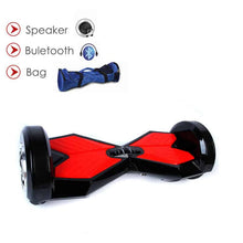 "Load image into Gallery viewer, 8"" Wheel Lamborghini Style Hoverboard Scooter - Black & Red"