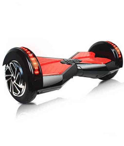 "8"" Wheel Lamborghini Style Hoverboard Scooter - Black & Red"